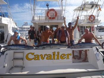 17/11 3 Wahoo's - Wahoo Explosion Cavalier & Blue Marlin Sport Fishing Gran Canaria