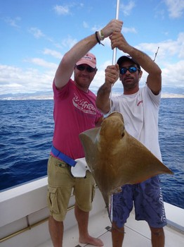22/11 Eagle ray Cavalier & Blue Marlin Sport Fishing Gran Canaria