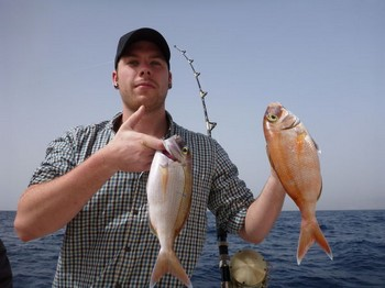 Red Snappers Cavalier & Blue Marlin Sport Fishing Gran Canaria