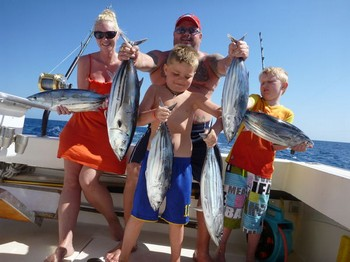 The Happy Family Cavalier & Blue Marlin Sport Fishing Gran Canaria
