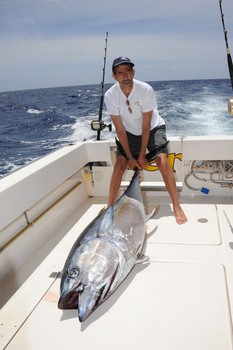 Big Eye Tuna 100 kilo Cavalier & Blue Marlin Sport Fishing Gran Canaria