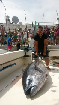 Big Eye Tuna - New record Big Eye Tuna Cavalier & Blue Marlin Sport Fishing Gran Canaria