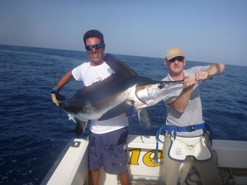 White Marlin released onboard of the boat Cavalier Cavalier & Blue Marlin Sport Fishing Gran Canaria