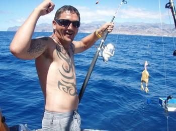 Mr Chicken ! Cavalier & Blue Marlin Sport Fishing Gran Canaria