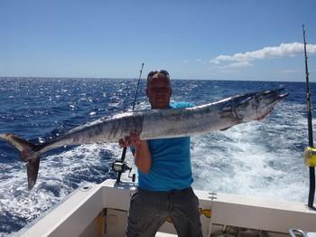Wahoo - Ronny Polzin de Alemania en el barco Cavalier Pesca Deportiva Cavalier & Blue Marlin Gran Canaria