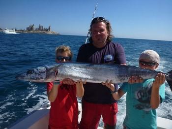 Wahoo - Christian Sorlie from Norway Cavalier & Blue Marlin Sport Fishing Gran Canaria