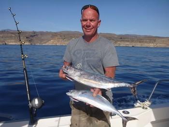 Atlantic Bonito está en el barco Cavalier Pesca Deportiva Cavalier & Blue Marlin Gran Canaria