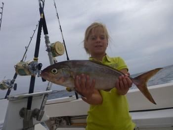 Amberjack - Miss Moens de Holanda Pesca Deportiva Cavalier & Blue Marlin Gran Canaria