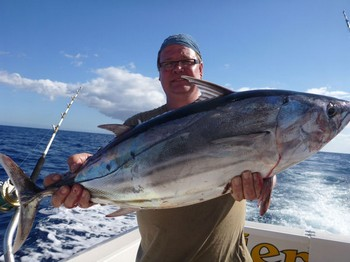 Skipjack Tuna caught by Christian Arbild from Denmark Cavalier & Blue Marlin Sport Fishing Gran Canaria