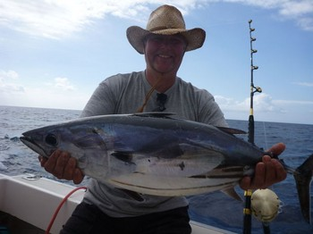 Skipjack Tuna - Well done Mikael Johansson from Sweden Cavalier & Blue Marlin Sport Fishing Gran Canaria