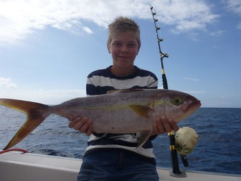 Amberjack - Beautiful Amberjack caught by Anton Aberg Cavalier & Blue Marlin Sport Fishing Gran Canaria