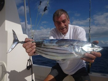 Skipjack Tuna caught by Jaap Kloos from Holland Cavalier & Blue Marlin Sport Fishing Gran Canaria