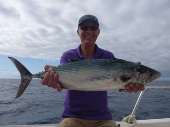 North Atlantic Bonito (sierra) caught by John Tuffnal from England Cavalier & Blue Marlin Sport Fishing Gran Canaria
