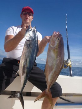 Amberjack & Sierra - Amberjack & Atlantic Bonito Cavalier & Blue Marlin Sport Fishing Gran Canaria