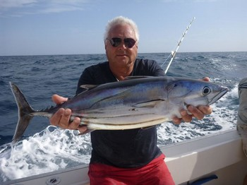 Skipjack Tuna - Jan van Ooijen caught this Skipjack Tuna Cavalier & Blue Marlin Sport Fishing Gran Canaria