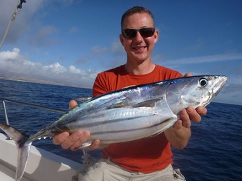 Skipjack Tuna caught by Johan Hartman from Holland Cavalier & Blue Marlin Sport Fishing Gran Canaria