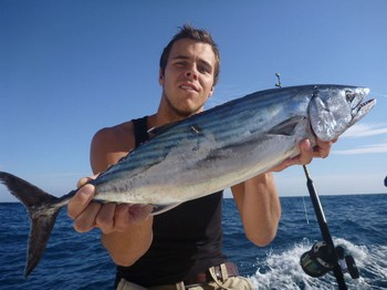 Skipjack Tuna - Martijn Meijs from Holland on the boat Cavalier Cavalier & Blue Marlin Sport Fishing Gran Canaria