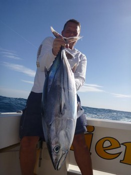 New Boat Record - New Record Skipjack Tuna caught by Mika Ruotsalainen from Finland Cavalier & Blue Marlin Sport Fishing Gran Canaria