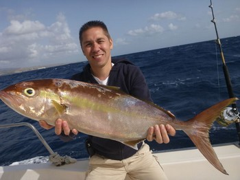 Amberjack - Beautifull Amberjack caught by Sander Felter from Holland Cavalier & Blue Marlin Sport Fishing Gran Canaria