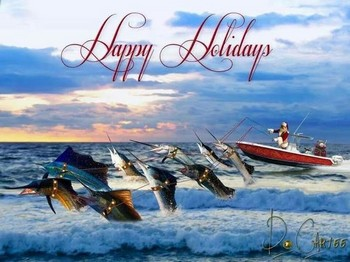 Happy Holidays Cavalier & Blue Marlin Sport Fishing Gran Canaria