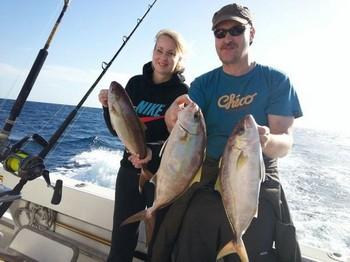 Nice Catch - Jaromir Brezina on the boat Cavalier Cavalier & Blue Marlin Sport Fishing Gran Canaria