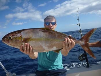 Amberjack - Glenn Rulqudy from Belgium Cavalier & Blue Marlin Sport Fishing Gran Canaria