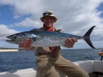 Atlantic Bonito - Leonhardt Pihl from Denmark Cavalier & Blue Marlin Sport Fishing Gran Canaria