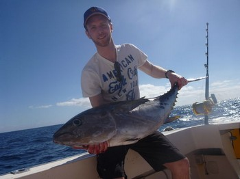 Bigeye Tuna caught by Andreas Gustafsson from Sweden Cavalier & Blue Marlin Sport Fishing Gran Canaria