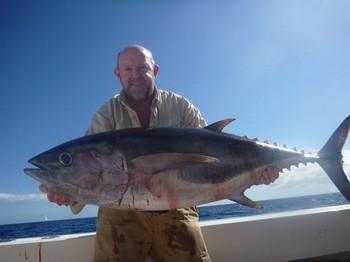 Bigeye Tuna - Well done Bob Nicholls from England Cavalier & Blue Marlin Sport Fishing Gran Canaria