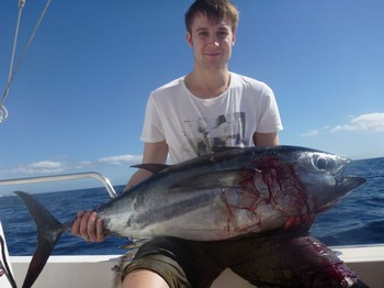 Bigeye Tuna - Robin Stenborg from Sweden on the boat Cavalier Cavalier & Blue Marlin Sport Fishing Gran Canaria