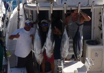 Happy Faces - Happy faces on the boat Blue Marlin 3 Cavalier & Blue Marlin Sport Fishing Gran Canaria