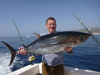 Albacore Tuna - Trondur Lyngvej from the Faroe Islands Cavalier & Blue Marlin Sport Fishing Gran Canaria