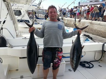 Well Done - Well done - Michael Ericsson from Denmark Cavalier & Blue Marlin Sport Fishing Gran Canaria