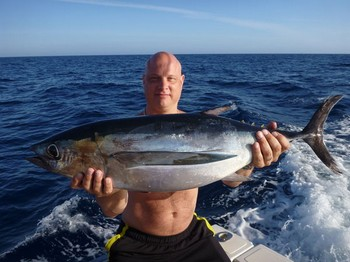Albacore Tuna caught by Niklas Blomqvist from Sweden Cavalier & Blue Marlin Sport Fishing Gran Canaria