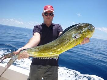 Dorado - Lukas Jansen from Holland on the boat Cavalier Cavalier & Blue Marlin Sport Fishing Gran Canaria