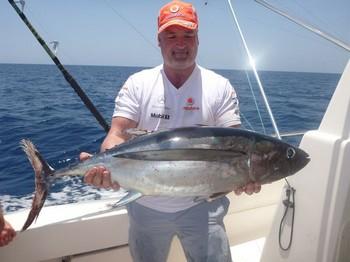 Albacore Tuna caught by Marc Adams from England Cavalier & Blue Marlin Sport Fishing Gran Canaria