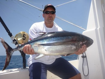 Albacore Tuna - Well done Michael Rausch from Germany Cavalier & Blue Marlin Sport Fishing Gran Canaria