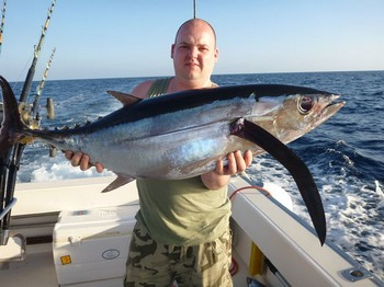 Albacore Tuna - Steven van Geloven from Belgium Cavalier & Blue Marlin Sport Fishing Gran Canaria