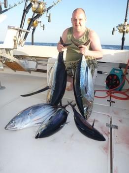 Nice Catch from Steven van Geloven on the Cavalier Cavalier & Blue Marlin Sport Fishing Gran Canaria
