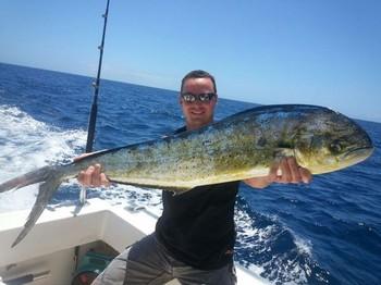 Dorado - Nice Dorado caught by Barry from the United Kingdom Cavalier & Blue Marlin Sport Fishing Gran Canaria