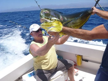 Dorado - Werner Völler from Germany Cavalier & Blue Marlin Sport Fishing Gran Canaria