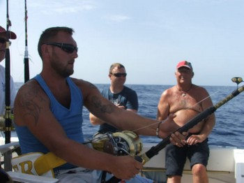 Hooked Up - Sander Pipping onboard of the boat Cavalier Cavalier & Blue Marlin Sport Fishing Gran Canaria