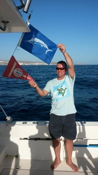 Happy Steven Cavalier & Blue Marlin Sport Fishing Gran Canaria