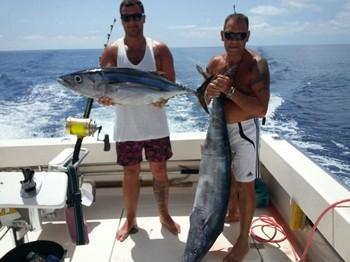 Nice catch on the boat Cavalier Cavalier & Blue Marlin Sport Fishing Gran Canaria