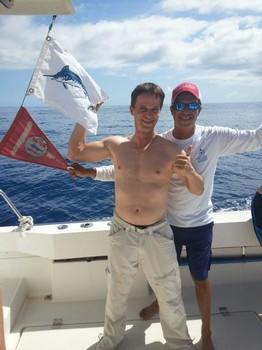 The Flags - Alexander Hanika from Germany Cavalier & Blue Marlin Sport Fishing Gran Canaria