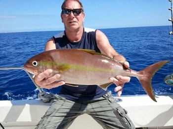 Amberjack caught by Richard van den Hoed Cavalier & Blue Marlin Sport Fishing Gran Canaria