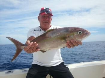 Amberjack - Rob Vlak from Holland on the Cavalier Cavalier & Blue Marlin Sport Fishing Gran Canaria