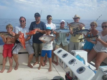 Satisfied Anglers - Satisfied anglers on board of the Cavalier Cavalier & Blue Marlin Sport Fishing Gran Canaria