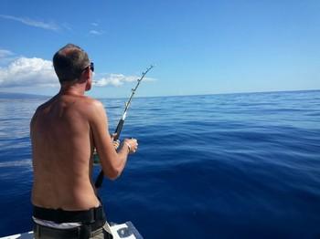 Hooked-up - Marco van Drums  hooked up Cavalier & Blue Marlin Sport Fishing Gran Canaria