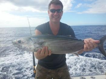 Atlantic Bonito caught by Mike Tignol Cavalier & Blue Marlin Sport Fishing Gran Canaria